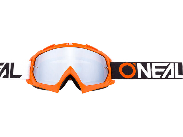ONeal B-10 Goggle TWOFACE orange-mirror silver